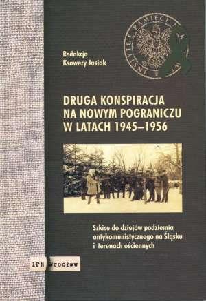 Druga konspiracja na nowym pograniczu - okładka książki