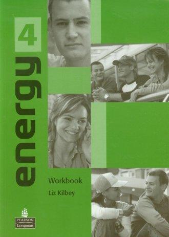 Energy 4. Workbook - okładka podręcznika