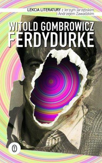 Ferdydurke. Lekcja literatury - okładka podręcznika