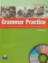 Grammar Practice for Intermediate Students with key (+ CD) - okładka podręcznika