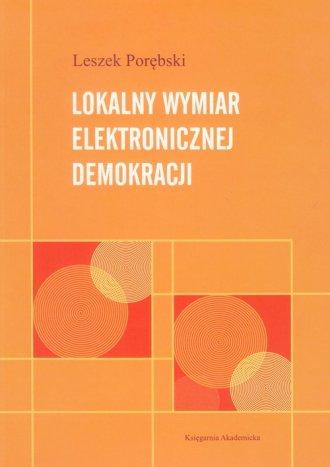 Lokalny wymiar elektronicznej demokracji - okładka książki