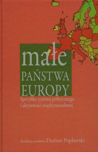 Małe państwa Europy - okładka książki