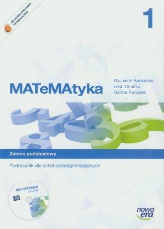 MATeMAtyka 1. Podręcznik do szkół - okładka podręcznika