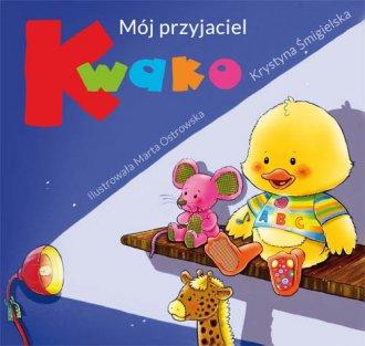 Mój przyjaciel Kwako - okładka książki