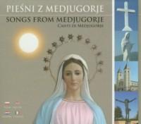 Pieśni z Medjugorje (CD) - okładka płyty