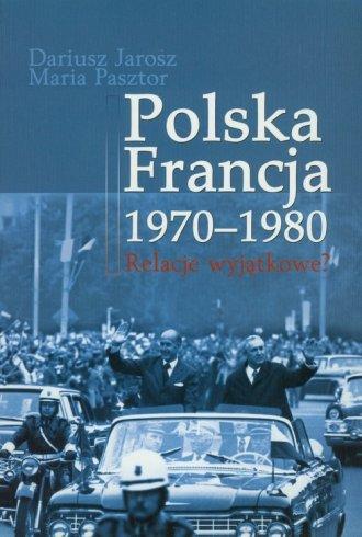 Polska - Francja 1970-1980 - okładka książki