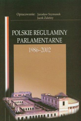 Polskie regulaminy parlamentarne - okładka książki