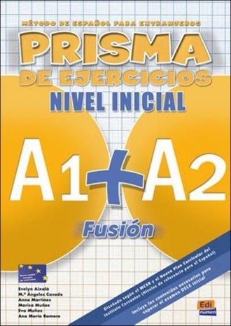 Prisma Fusion nivel inicial A1 - okładka podręcznika