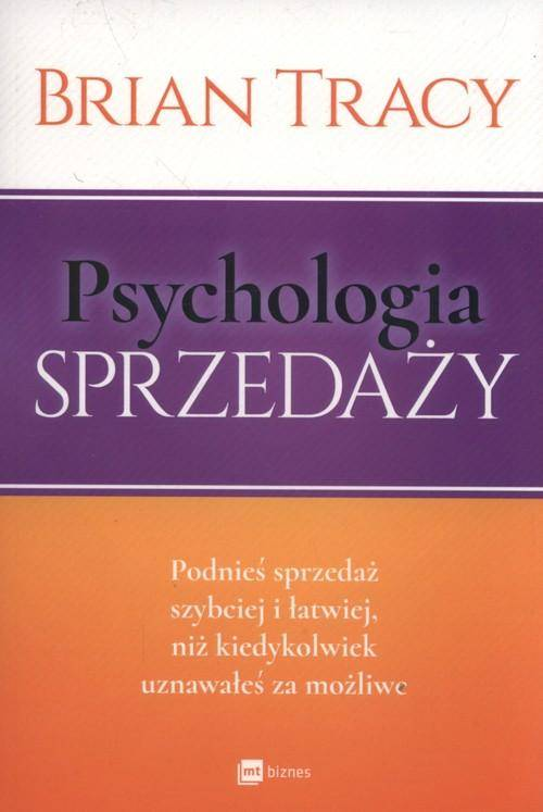 Psychologia sprzedaży - okładka książki