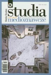 Studia medioznawcze 1/2012 - okładka książki
