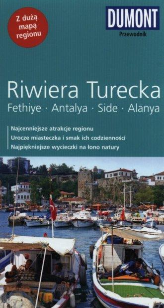 Turecka Riwiera. Przewodnik - okładka książki