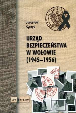 Urząd bezpieczeństwa w Wołowie - okładka książki