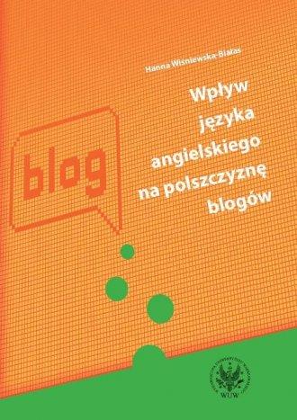 Wpływ języka angielskiego na polszczyznę - okładka książki