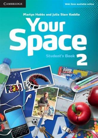 Your Space 2. Student s Book - okładka podręcznika