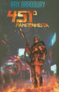 451 Fahrenheita - okładka książki