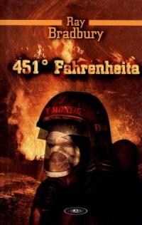 451 stopni Fahrenheita - okładka książki