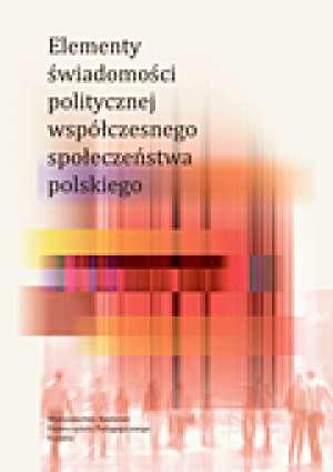Elementy świadomości politycznej - okładka książki