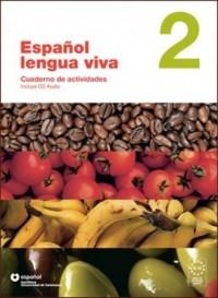 Espanol lengua viva 2. Ćwiczenia (+ CD) - okładka podręcznika
