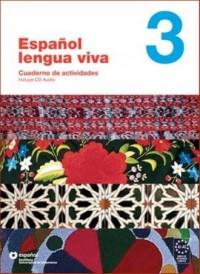 Espanol lengua viva 3. Ćwiczenia (+ CD) - okładka podręcznika