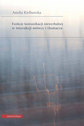 Funkcje komunikacji niewerbalnej - okładka książki