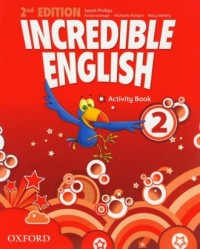 Incredible English 2. Activity - okładka podręcznika