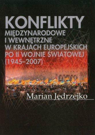 Konflikty międzynarodowe i wewnętrzne - okładka książki