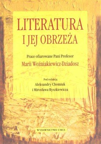 Literatura i jej obrzeża - okładka książki