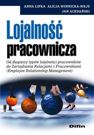Lojalność pracownicza - okładka książki