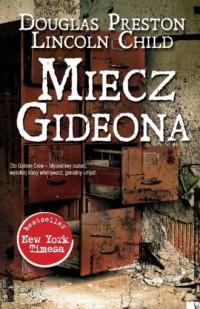 Miecz Gideona - okładka książki