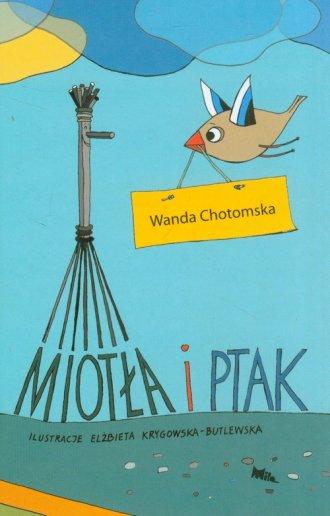 Miotła i ptak - okładka książki