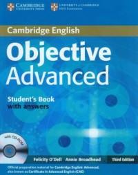 Objective Advanced Students Book with answers - okładka podręcznika