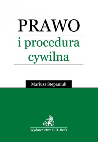 Prawo i procedura cywilna - okładka książki