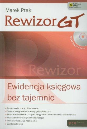 Rewizor GT. Ewidencja księgowa - okładka książki