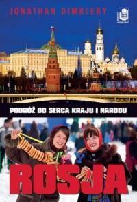 Rosja - Jonathan Dimbleby - okładka książki