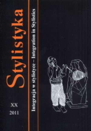 Stylistyka XX. Integracja w stylistyce - okładka książki