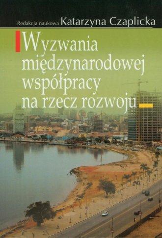Wyzwania międzynarodowej współpracy - okładka książki