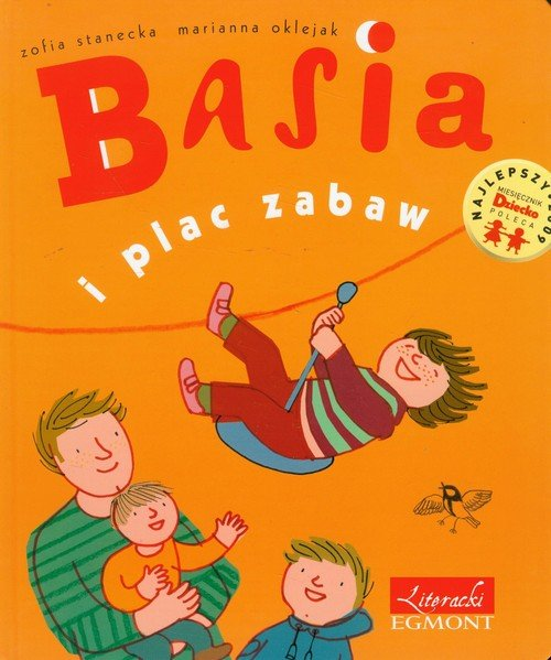 Basia i plac zabaw - okładka książki