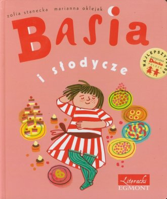 Basia i słodycze - okładka książki