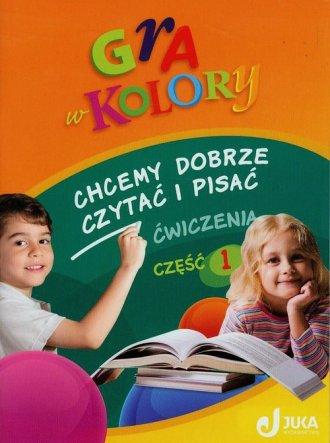 Gra w kolory. Klasa 1-3. Szkoła - okładka podręcznika