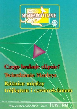 Miniatury matematyczne 39. Czego - okładka książki