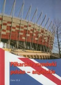 Piłkarskie rozmówki polsko-angielskie - okładka książki