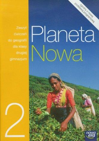 Planeta Nowa. Geografia. Klasa - okładka podręcznika