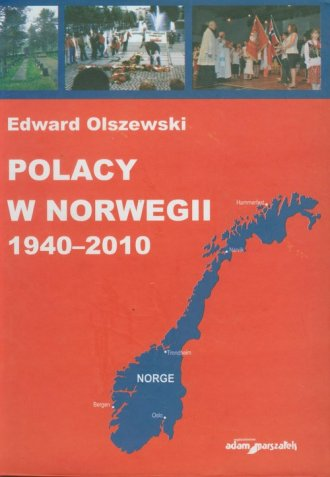 Polacy w Norwegii 1940-2010 - okładka książki