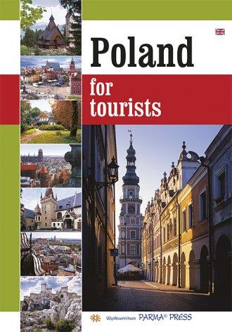 Polska dla turysty (wersja ang.) - okładka książki
