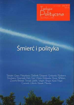 Teologia Polityczna nr 6/2012 - okładka książki