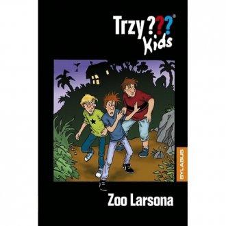 Trzy kids. Zoo Larsona - okładka książki