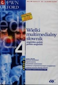 Wielki multimedialny słownik angielsko-polski, polsko-angielski PWN Oxford 4.0 - pudełko programu