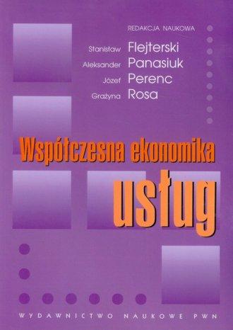 Współczesna ekonomika usług - okładka książki