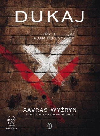 Xavras Wyżryn i inne fikcje narodowe - pudełko audiobooku