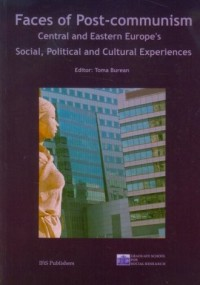 Faces of post comunism Central and Eastern Europes - okładka książki